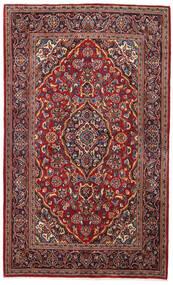 Keshan Matto 138X220 Itämainen Käsinsolmittu Tummanpunainen/Tummanruskea (Villa, Persia/Iran)