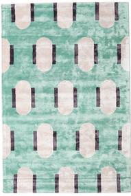 Catalpa - Vihreä Matto 160X230 Moderni Pastellinvihreä/Beige ( Intia)