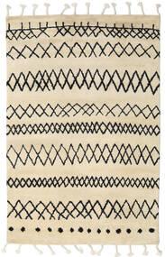 Beni Berber Matto 180X275 Moderni Käsinsolmittu Beige/Tummanharmaa (Villa, Intia)