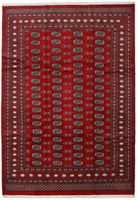Pakistan Bokhara 2Ply Matto 210X303 Itämainen Käsinsolmittu Tummanpunainen/Punainen (Villa, Pakistan)