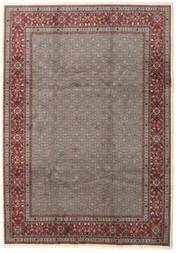 Moud Matto 245X345 Itämainen Käsinsolmittu Tummanharmaa/Ruskea (Villa/Silkki, Persia/Iran)