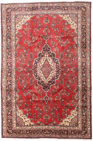 Hamadan Shahrbaf Matto 212X321 Itämainen Käsinsolmittu Tummanpunainen/Ruoste (Villa, Persia/Iran)