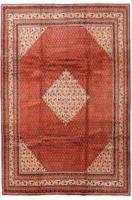 Sarough Mir Matto 214X317 Itämainen Käsinsolmittu Ruoste/Tummanruskea (Villa, Persia/Iran)