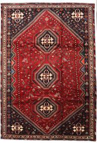 Ghashghai Matto 223X322 Itämainen Käsinsolmittu Tummanpunainen/Tummanruskea (Villa, Persia/Iran)
