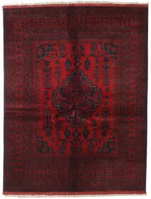 Afghan Khal Mohammadi Matto 151X196 Itämainen Käsinsolmittu Tummanpunainen/Tummanruskea (Villa, Afganistan)
