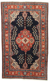 Kazak Matto 120X194 Itämainen Käsinsolmittu Tummansininen/Tummanpunainen (Villa, Afganistan)