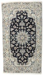Nain Matto 118X210 Itämainen Käsinsolmittu Vaaleanharmaa/Tummanharmaa (Villa, Persia/Iran)