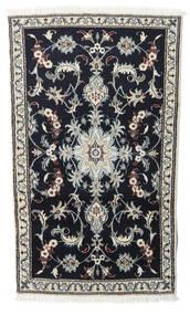 Nain Matto 90X145 Itämainen Käsinsolmittu Tummansininen/Vaaleanharmaa (Villa, Persia/Iran)