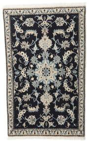 Nain Matto 86X140 Itämainen Käsinsolmittu Tummanharmaa/Vaaleanharmaa (Villa, Persia/Iran)