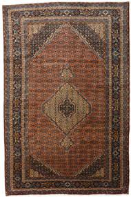 Ardebil Matto 188X289 Itämainen Käsinsolmittu Tummanpunainen/Musta (Villa, Persia/Iran)