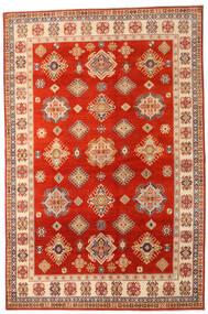 Kazak Matto 205X310 Itämainen Käsinsolmittu Ruoste/Vaaleanruskea (Villa, Afganistan)