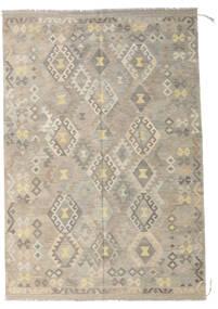 Kelim Afghan Old Style Matto 173X254 Itämainen Käsinkudottu Vaaleanharmaa/Beige (Villa, Afganistan)