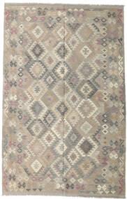 Kelim Afghan Old Style Matto 191X302 Itämainen Käsinkudottu Vaaleanharmaa (Villa, Afganistan)