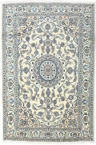 Nain Matto 196X295 Itämainen Käsinsolmittu Vaaleanharmaa/Beige (Villa, Persia/Iran)
