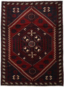 Lori Matto 220X300 Itämainen Käsinsolmittu Tummanpunainen (Villa, Persia/Iran)