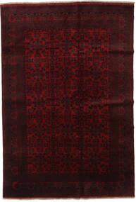 Afghan Khal Mohammadi Matto 198X289 Itämainen Käsinsolmittu Tummanpunainen (Villa, Afganistan)