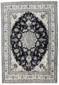 Nain Matto 164X236 Itämainen Käsinsolmittu Vaaleanharmaa/Musta (Villa, Persia/Iran)
