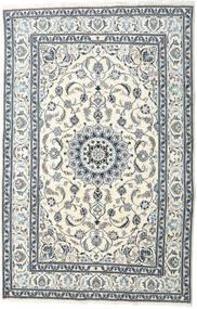 Nain Matto 195X299 Itämainen Käsinsolmittu Beige/Vaaleanharmaa (Villa, Persia/Iran)