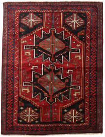 Lori Matto 168X224 Itämainen Käsinsolmittu Tummanpunainen/Tummanruskea (Villa, Persia/Iran)