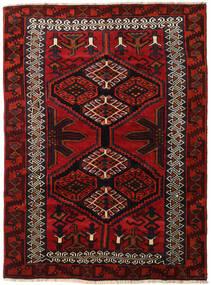 Lori Matto 165X223 Itämainen Käsinsolmittu Tummanpunainen/Ruoste (Villa, Persia/Iran)