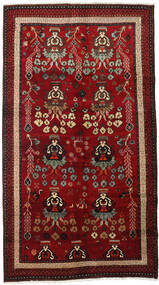 Lori Matto 145X265 Itämainen Käsinsolmittu Tummanpunainen/Tummanruskea (Villa, Persia/Iran)