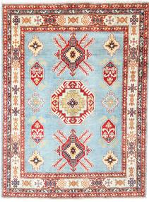 Kazak Matto 152X206 Itämainen Käsinsolmittu Beige/Vaaleansininen (Villa, Afganistan)