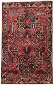 Hamadan Matto 152X243 Itämainen Käsinsolmittu Tummanpunainen/Tummanruskea (Villa, Persia/Iran)