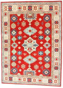 Kazak Matto 150X204 Itämainen Käsinsolmittu Punainen/Tummanbeige (Villa, Afganistan)