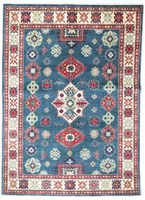 Kazak Matto 149X209 Itämainen Käsinsolmittu Sininen/Tummanharmaa (Villa, Afganistan)