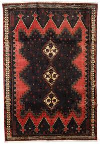 Afshar Matto 165X238 Itämainen Käsinsolmittu Tummanruskea/Tummanpunainen (Villa, Persia/Iran)