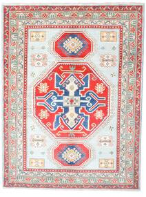 Kazak Matto 155X205 Itämainen Käsinsolmittu Vaaleanpunainen/Vaaleanharmaa (Villa, Afganistan)