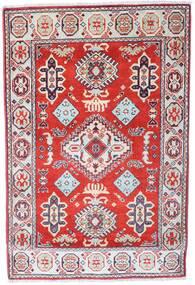 Kazak Matto 86X128 Itämainen Käsinsolmittu Vaaleanharmaa/Vaaleanpunainen (Villa, Afganistan)