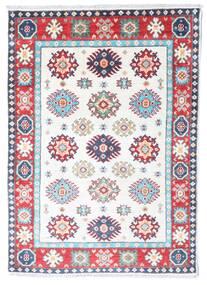 Kazak Matto 85X121 Itämainen Käsinsolmittu Beige/Valkoinen/Creme (Villa, Afganistan)