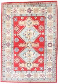 Kazak Matto 149X213 Itämainen Käsinsolmittu Beige/Vaaleanharmaa (Villa, Afganistan)