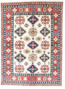 Kazak Matto 148X202 Itämainen Käsinsolmittu Beige/Valkoinen/Creme (Villa, Pakistan)