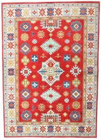 Kazak Matto 168X236 Itämainen Käsinsolmittu Beige/Punainen (Villa, Pakistan)