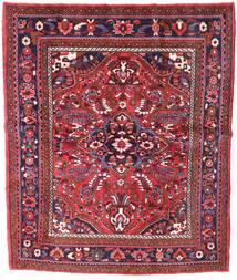 Zanjan Matto 155X221 Itämainen Käsinsolmittu Tummanpunainen (Villa, Persia/Iran)