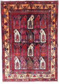 Zanjan Matto 145X210 Itämainen Käsinsolmittu Tummanpunainen/Tummanruskea (Villa, Persia/Iran)