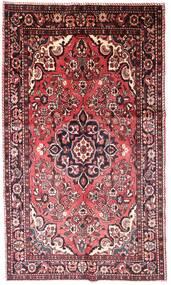 Lillian Matto 158X263 Itämainen Käsinsolmittu Tummanruskea/Vaaleanpunainen (Villa, Persia/Iran)