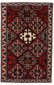 Lori Matto 138X215 Itämainen Käsinsolmittu Tummanpunainen (Villa, Persia/Iran)