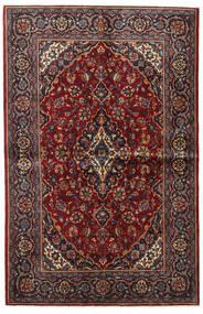 Keshan Matto 135X209 Itämainen Käsinsolmittu Tummanpunainen/Tummanruskea (Villa, Persia/Iran)