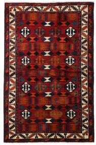 Lori Matto 145X224 Itämainen Käsinsolmittu Tummanruskea/Tummanpunainen (Villa, Persia/Iran)