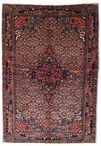 Koliai Matto 160X232 Itämainen Käsinsolmittu Tummanruskea/Tummanpunainen (Villa, Persia/Iran)