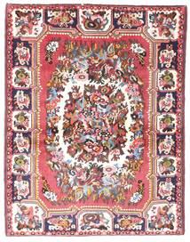 Bakhtiar Matto 109X142 Itämainen Käsinsolmittu Vaaleanpunainen/Ruskea (Villa, Persia/Iran)