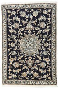 Nain Matto 90X135 Itämainen Käsinsolmittu Tummansininen/Vaaleanharmaa/Tummanharmaa (Villa, Persia/Iran)