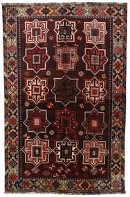 Shiraz Matto 153X236 Itämainen Käsinsolmittu Tummanruskea/Tummanpunainen (Villa, Persia/Iran)