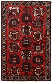 Shiraz Matto 152X241 Itämainen Käsinsolmittu Tummanruskea/Tummanpunainen (Villa, Persia/Iran)