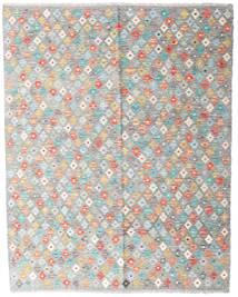 Kelim Afghan Old Style Matto 154X194 Itämainen Käsinkudottu Vaaleanharmaa/Vaaleanpunainen (Villa, Afganistan)