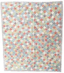 Kelim Afghan Old Style Matto 165X187 Itämainen Käsinkudottu Vaaleanharmaa/Beige (Villa, Afganistan)