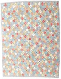 Kelim Afghan Old Style Matto 152X196 Itämainen Käsinkudottu Vaaleanharmaa/Beige (Villa, Afganistan)